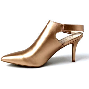 Seven Dials Sherly Pointed-Toe Gold Metallic 11M